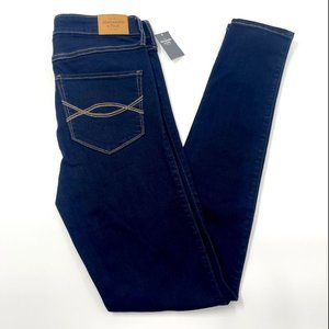 Abercrombie & Fitch High Rise Skinny Jeans LONG